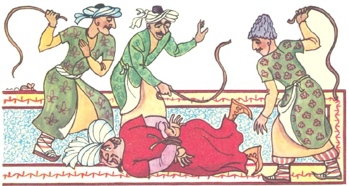 Дотепна Зарніяр (азербайджанська казка)-4