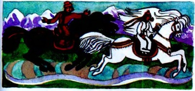 Ак-чечек - Біла квітка (алтайська казка)