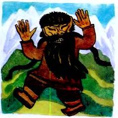 Боролдой-мерген і його хоробрий син (алтайська казка)