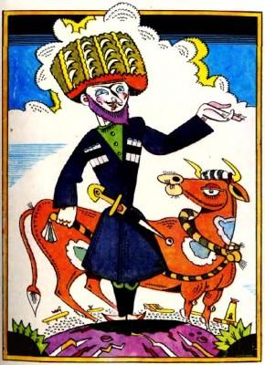 Цагенова шапка (інгуська казка)
