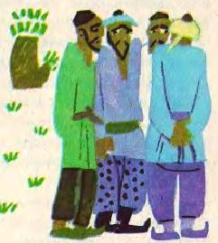 Дев'ятеро ледацюг і один моторний (узбецька казка)