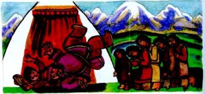 Ер-боко-каан i сирота Чичкан (алтайська казка)