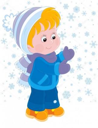 Хлопчик і сніжинка (В. Сухомлинський)