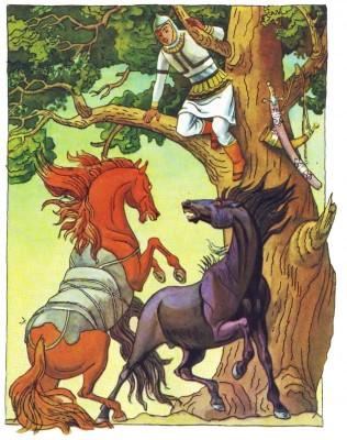 Румунська народна казка про Іляна Сімзяна-5