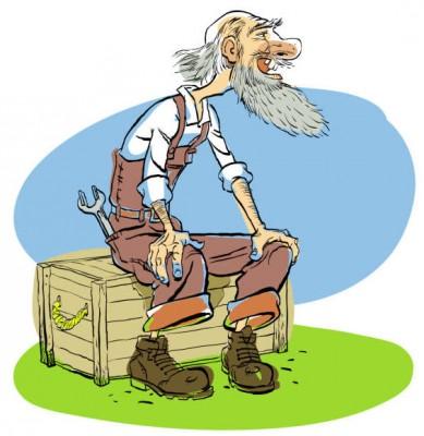Як дід на хліб заробляв (латиська народна казка)