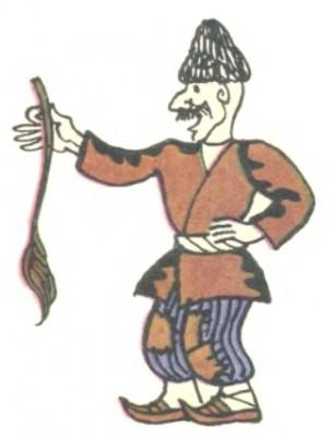 Казка про лисого й казі (азербайджанська казка)-2