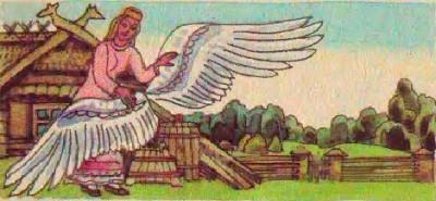 Королева-лебідка (литовська казка)