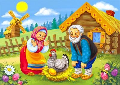 Курочка Ряба - українська народна казка