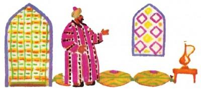 Лихий бай і наймит Алдар (узбецька казка)