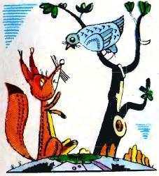 Лисиця й куріпка (інгуська казка)
