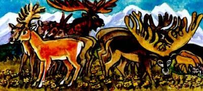 Лісова баба (алтайська казка)