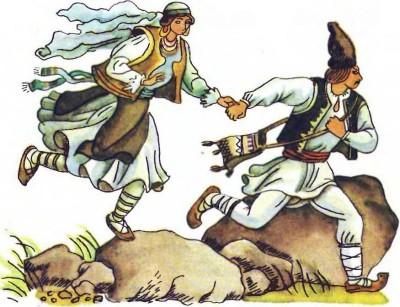 Румунська народна казка про лісового мисливця Кринку-3