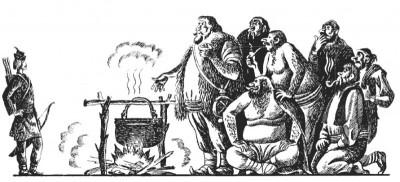 Румунська народна казка про лісового мисливця Кринку
