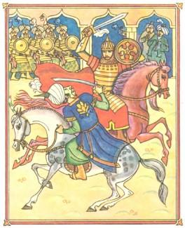 Малик-Мамед (азербайджанська казка)-4