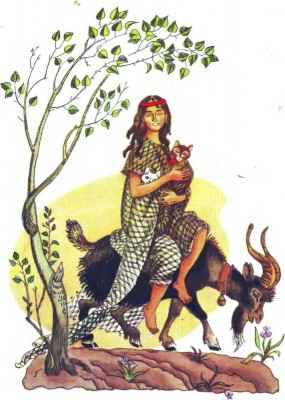 Румунська народна казка про мудру бідьнякову доньку