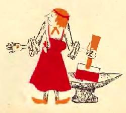 Нікудишній коваль (естонська казка)
