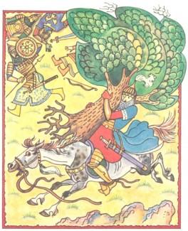 Носильник Ахмед (азербайджанська казка)-6