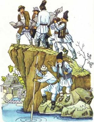 Румунська народна казка про пригоди Пекале у рідному селі-3