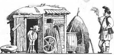 Румунська народна казка про пригоди Пекале у рідному селі
