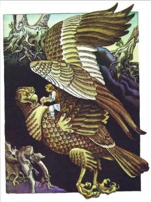 Румунська народна казка про Прислю-богатиря і золоті яблука-4