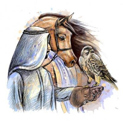 Про еміра, що вбив на полюванні свого сина - арабська народна казка