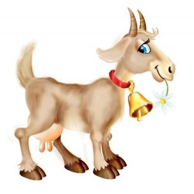 Про козу, сімох козенят та відьму (арабська казка)