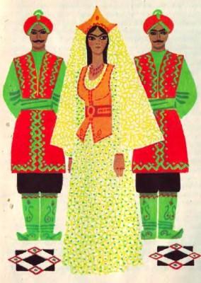 Проданий сон (узбецька казка)
