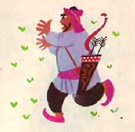 Сизоперець-мудрець (узбецька казка)