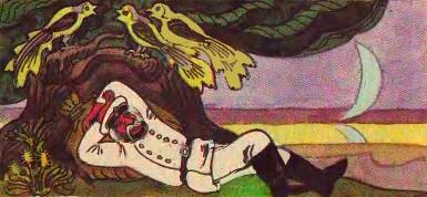 Старий солдат (литовська казка)