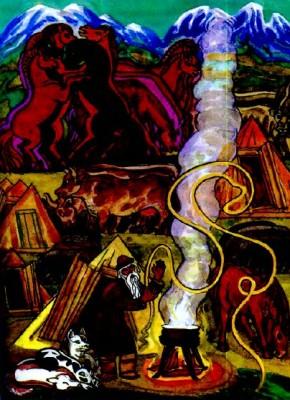 Танзаган – батько алтайців (алтайська казка)