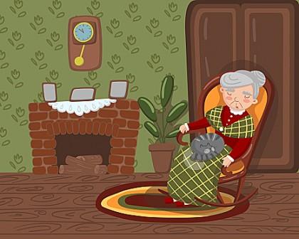 Тихо, бабуся відпочиває (В. Сухомлинський)