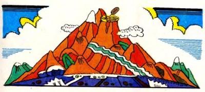 Три брати, три хмарини, три чарівних коні й три князівни (чеченська казка)