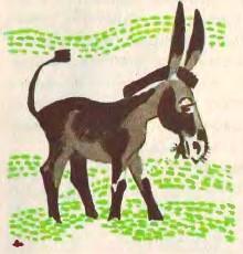 Віслюк-мудрагель (узбецька казка)