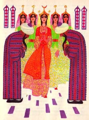 Вівчарівна (узбецька казка)