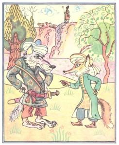Вовк і Лис (азербайджанська казка)