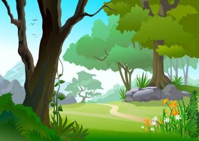 Все співає в лісі (В. Сухомлинський)