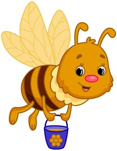 Як бджола стала золота - казка Василя Сухомлинського