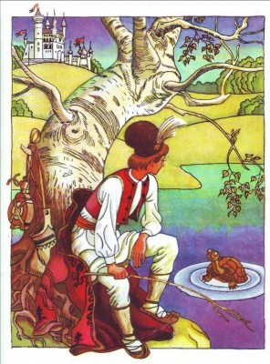 Румунська народна казка про зачаровану черепаху-2