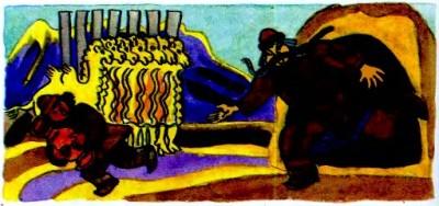 Золота чочойка (алтайська казка)