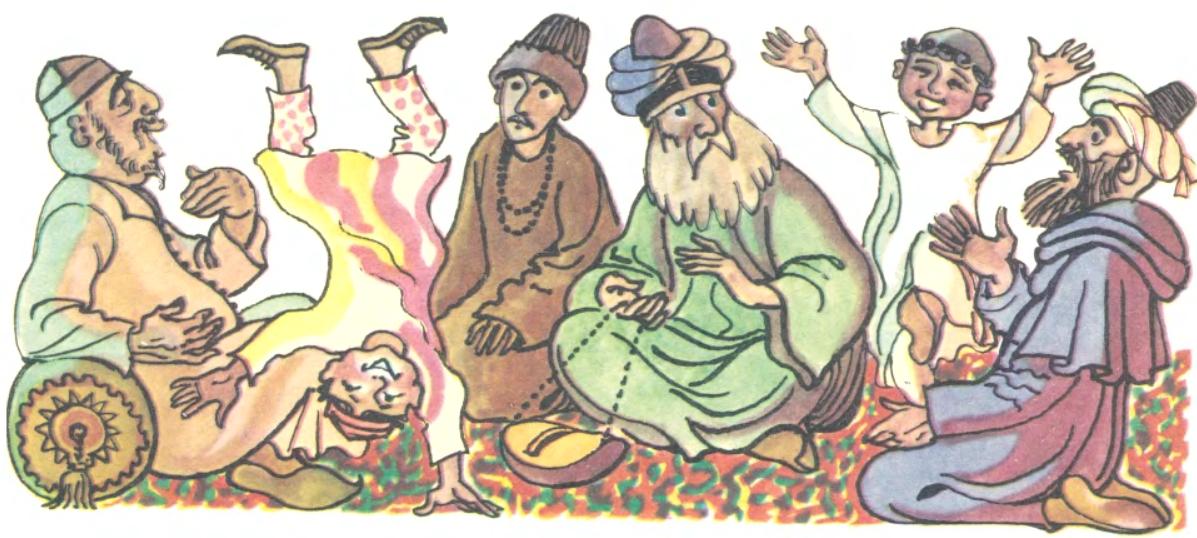 Старий не літами, а розумом (азербайджанська казка)-3