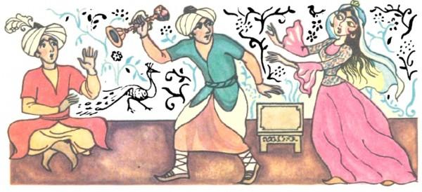 Золотий свічник (азербайджанська казка)