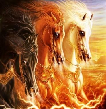 Іван і чарівні коні (українська народна казка)