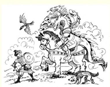 Іван – селянський син і чудо-юдо (російська казка)