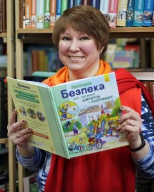 Інтерв'ю з Юлією Каспаровою (книга «Безпека для зайченят, дівчаток та хлопченят» )