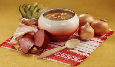 Багацький обід (українська народна казка)