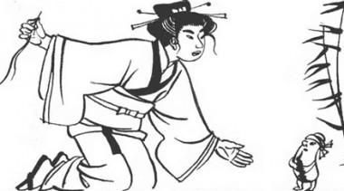Біб, соломинка та вуглинка (японська казка)