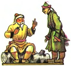 Бідний-пребідний чоловік (бурятська казка)