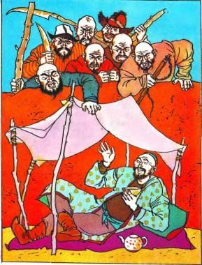Бідний селянин та семеро заздрісних братів (киргизька казка)