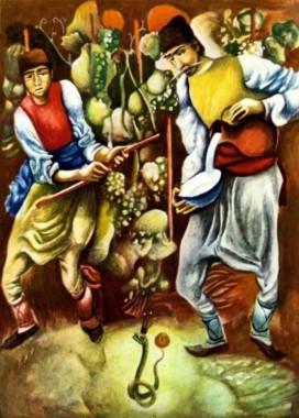 Виноградар і змія (болгарська казка)