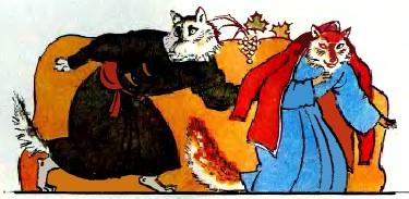 Вовк та лисиця (таджицька казка)